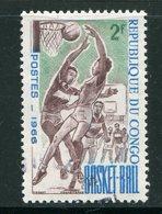 CONGO- Y&T N°191- Oblitéré (basket-ball) - Oblitérés
