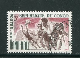 CONGO- Y&T N°191- Oblitéré (hand-ball) - Congo - Brazzaville