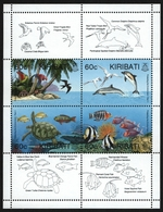 Kiribati 1995 - Mi-Nr. 715-718 ** - MNH - Wildtiere / Wild Animals - Kiribati (1979-...)