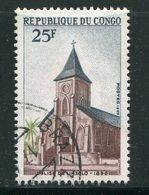 CONGO- Y&T N°251- Oblitéré (église) - Congo - Brazzaville