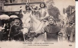CPA 61 -- COMPIEGNE -- Fêtes De Jeanne D' ARC -- Jeanne D'Arc Dans Compiègne - Compiegne