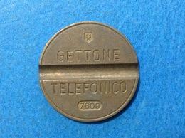 1976 ITALIA TOKEN GETTONE TELEFONICO SIP USATO 7609 - Altri