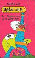 Carte Jeu Shadok ' Mania 2001 Pour Total Drapeau Européen à Gagner - Cartes