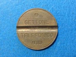 1976 ITALIA TOKEN GETTONE TELEFONICO SIP USATO 7609 - Italia