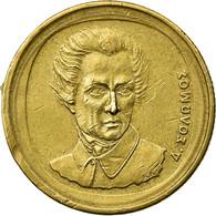 Monnaie, Grèce, Dionysios Solomos, Composer Of National Anthem, 20 Drachmes - Grèce