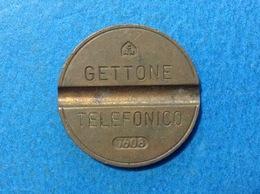 1976 ITALIA TOKEN GETTONE TELEFONICO SIP USATO 7608 - Altri