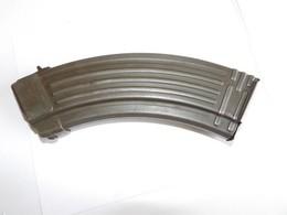 CHARGEUR DEMILITARISE DE AK 47 , 30coups 7,62 X 39mm. + 4 Cartouches De Manipulation - Armes Neutralisées