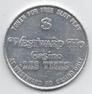 Jeton Alumi Free Slot Play : Westward Ho Casino $1 (Diamètre 40 Mm : Poids 6 Gr) - Casino