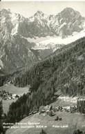 007116  Ramsau, Pension Gsenger - Blick Gegen Dachstein - Ramsau Am Dachstein