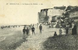 76 - Mesnil-Val - Le Casino Et Les Falaises - Mesnil-Val