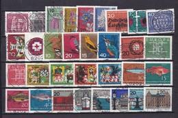 BRD  - 1963/64 - Sammlung - Gest. - Gebraucht