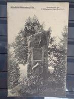 SCHLACHTFELD WEISSENBURG : GEDENKSTEIN DES 1. SCHLESISCHEN JAGER -BAT. N° 5 - Weissenburg