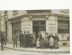 Carte Photo à Localiser A La Cigogne Ackermann Beau Plan Defaut Coté Droit - Cafés