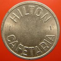 KB197-2 - HILTON CAFETARIA - Amsterdam - WM 22.0mm - (Koffie) Kantine Penning - (Coffee) Machine Token - Professionnels/De Société