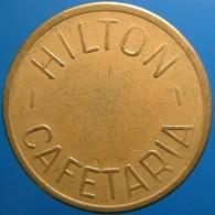 KB197-3 - HILTON CAFETARIA - Amsterdam - B 23.5mm - (Koffie) Kantine Penning - (Coffee) Machine Token - Professionnels/De Société