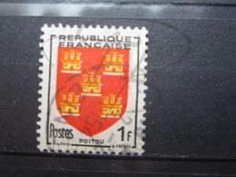 VEND BEAU TIMBRE DE FRANCE N° 952 , JAUNE DECALE !!! (c) - Varieties: 1950-59 Used