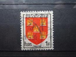 VEND BEAU TIMBRE DE FRANCE N° 952 , JAUNE DECALE !!! (d) - Errors & Oddities