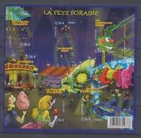 2009 France BLOC FEUILLET N°4378, La Fête Foraine YB4378 - Mint/Hinged