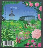 2009 France BLOC FEUILLET N°4384, Jardins De France YB4384 - Mint/Hinged