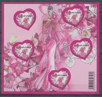 2009 France  Bloc Feuillet  N°127 Saint-Valentin YB127 - Mint/Hinged