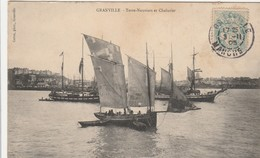 Granville ,(Avranches) , Terre Neuviers Et  Chalutier  ( Pêche à La Morue ) - Granville