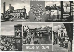 W1891 Bassano Del Grappa (Vicenza) - Panorama Vedute Multipla / Viaggiata 1958 - Italia