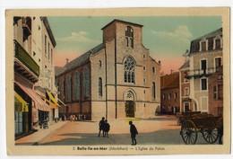 Belle Ile En Mer, Le Palais, L'église ( Ed J. Nozais) - Belle Ile En Mer