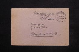 ALLEMAGNE - Enveloppe En Felpost Pour Un Soldat En 1940 , Oblitération Mécanique De Berlin - L 25023 - Allemagne