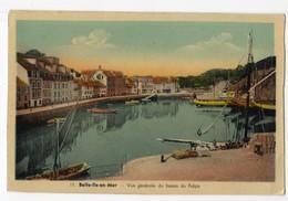Belle Ile En Mer, Le Palais, Vue Générale Du Bassin ( Ed J. Nozais) - Belle Ile En Mer