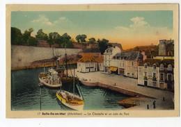 Belle Ile En Mer, Le Palais, La Citadelle Et Un Coin Du Port ( Ed J. Nozais) - Belle Ile En Mer