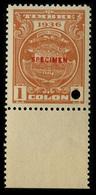 "1936 Costa Rica ""Color Proof Specimen"" - Costa Rica"