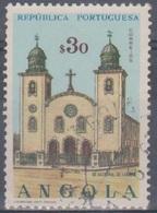 Angola 1963 Kirchen. Mi 495 0,30 E. Gestempelt - Angola