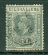 Sierra Leone: 1921/27   KGV     SG134     2d       Used - Sierra Leone (...-1960)