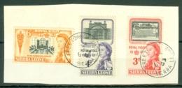 Sierra Leone: 1961   Royal Visit    Used P/set On Piece - Sierra Leone (1961-...)