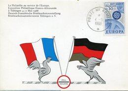 EUROPA CEPT 1967 FRANCE FDC YVERT Nº 1521 - Europa-CEPT