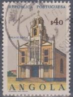 Angola 1963 Kirchen. Mi 496 0,40 E. Gestempelt - Angola