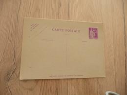 Entier France Vierge Type Paix 40 C + 40 C Violet Carte Postale En Réponse Payée YT 281 CPRP1 Date 546 - Entiers Postaux