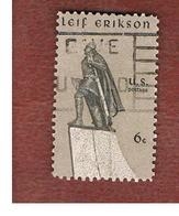 STATI UNITI (U.S.A.) - SG 1344  - 1968  LEIF ERIKSON, EXPLORER  - USED° - Stati Uniti