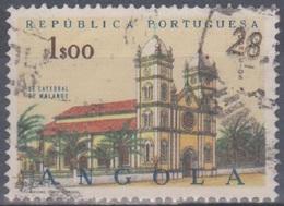 Angola 1963 Kirchen. Mi 498 1,00 E. Gestempelt - Angola