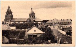 23 BENEVENT-l'ABBAYE - Vue De L'ancienne Abbaye - Benevent L'Abbaye