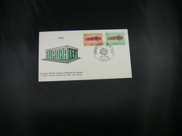 """BELG.1969 1489 & 1490 FDC (Leuven) : """" Europa 1969 """" - FDC"""