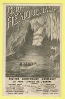 * Remouchamps (Aywaille - Liège - La Wallonie) * (E. Desaix) Grotte De Remouchamps, Rivière Souterraine, Bateau - Aywaille