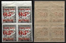 1891/92 - MARTINIQUE - NEUFS - 23**.Surchargé - Bloc De 4 -  Maury.c/240.eur - SUPERBE/MNH - Martinique (1886-1947)