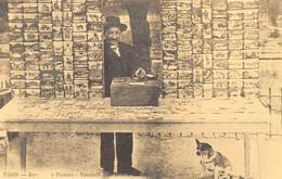 PARIS - Jardin Des Plantes - Vendeur De Cartes Postales - Cecodi N'P 196 - France