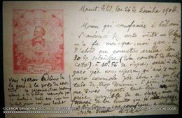 FREDERIC MISTRAL AUTOGRAPHE CARTE POSTALE TEXTE MANUSCRIT PAR MISTRAL ? 1900 A ROUX - Autographes