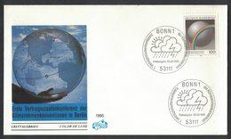 YN195    Germany FDC 1995  Klimarahmenkonvention - FDC: Enveloppes