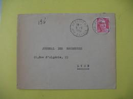 Lettre Cachet Bureau De Distribution Arbusigny    1951   Haute Savoie - France