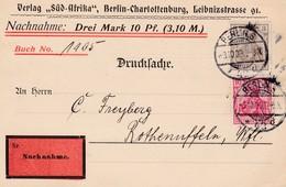 Karte Aus Berlin 1909 - Germania