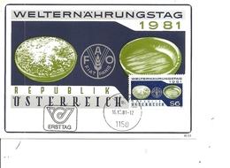 Contre La Faim ( CM D'Autriche De 1981 à Voir) - Against Starve
