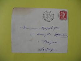 Devant De Lettre Cachet Bureau De Distribution St-Pierre-D'Eyraud     1959    Dordogne - France
